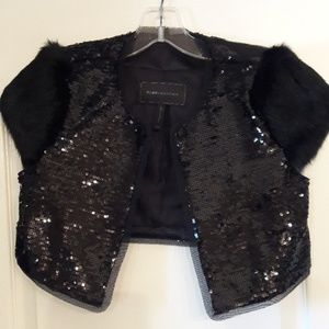 Adorable BCBG Bolero cropped shrug